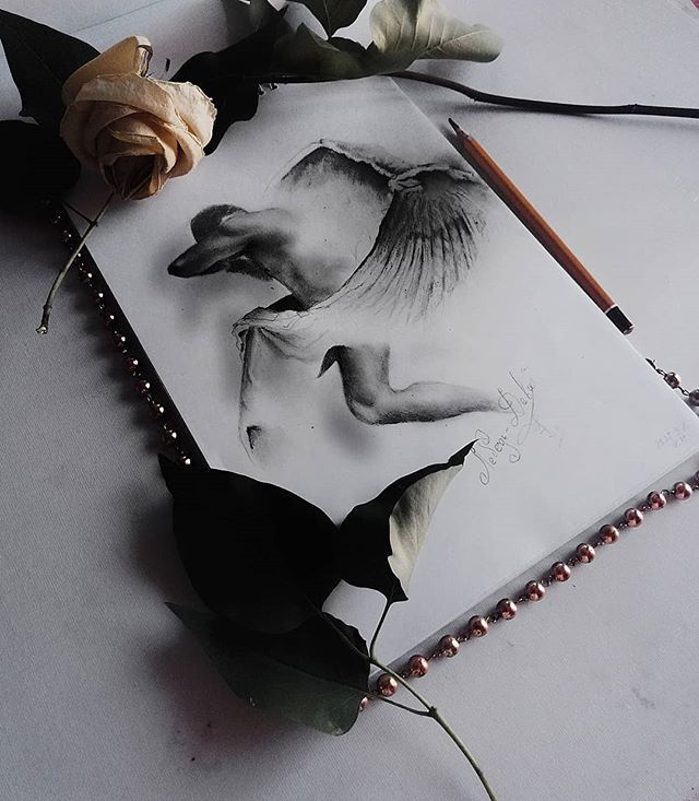 Unknown artist. White dream