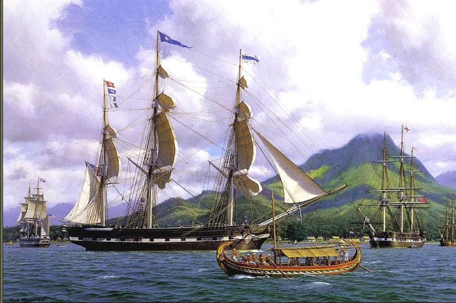 Марк Майерс. Парусное судно 17