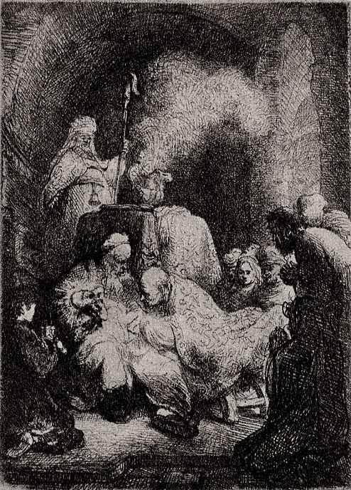 """Рембрандт Харменс ван Рейн. Так называемое """"Малое обрезание Христа"""""""