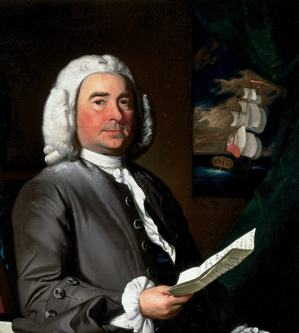 John Singleton Copley. Thomas Greene. Fragment