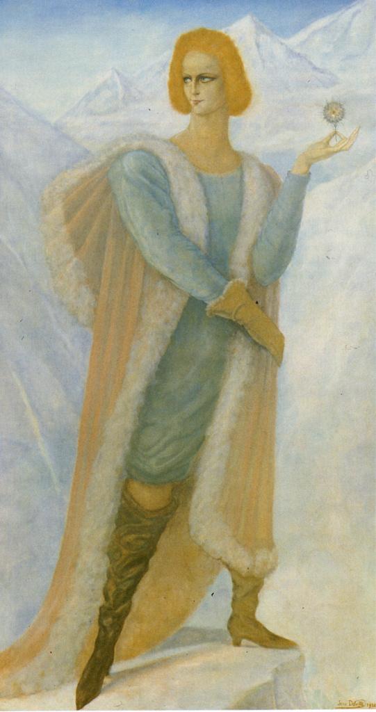 Жан Дельвиль. Серафит-Серафита