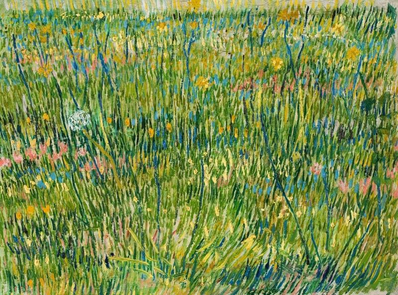 Винсент Ван Гог. Лоскут травы