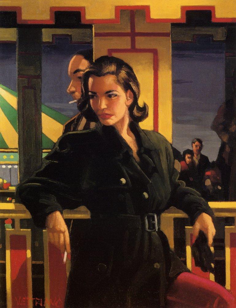 Jack Vettriano. The main attraction