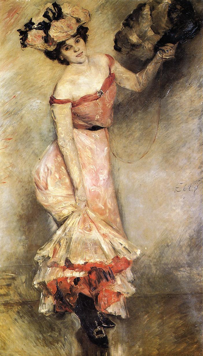 Lovis Corinth. Portrait Of Ellie