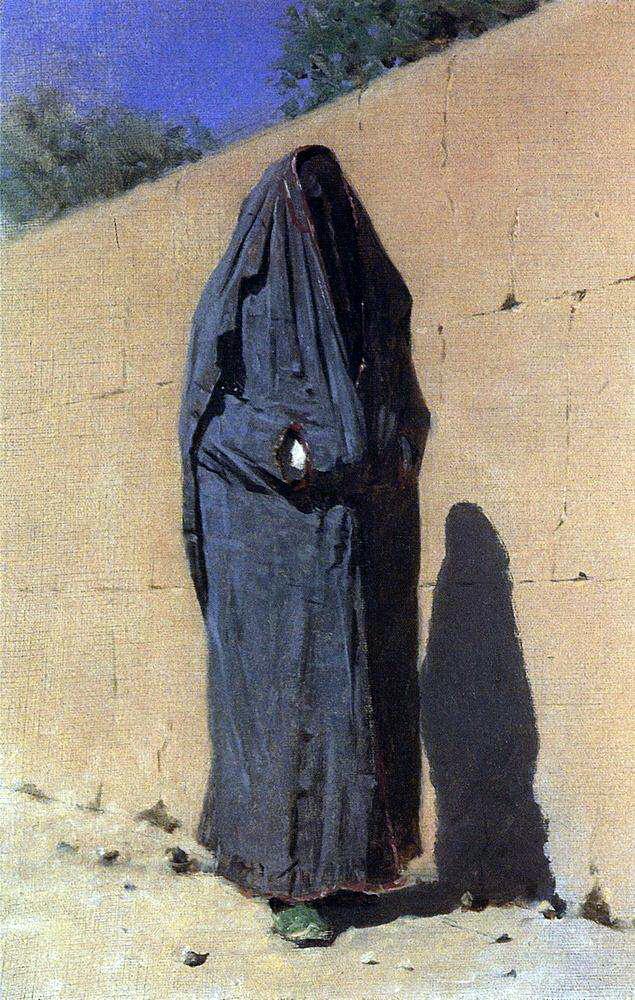 Василий Васильевич Верещагин. Узбекская женщина в Ташкенте