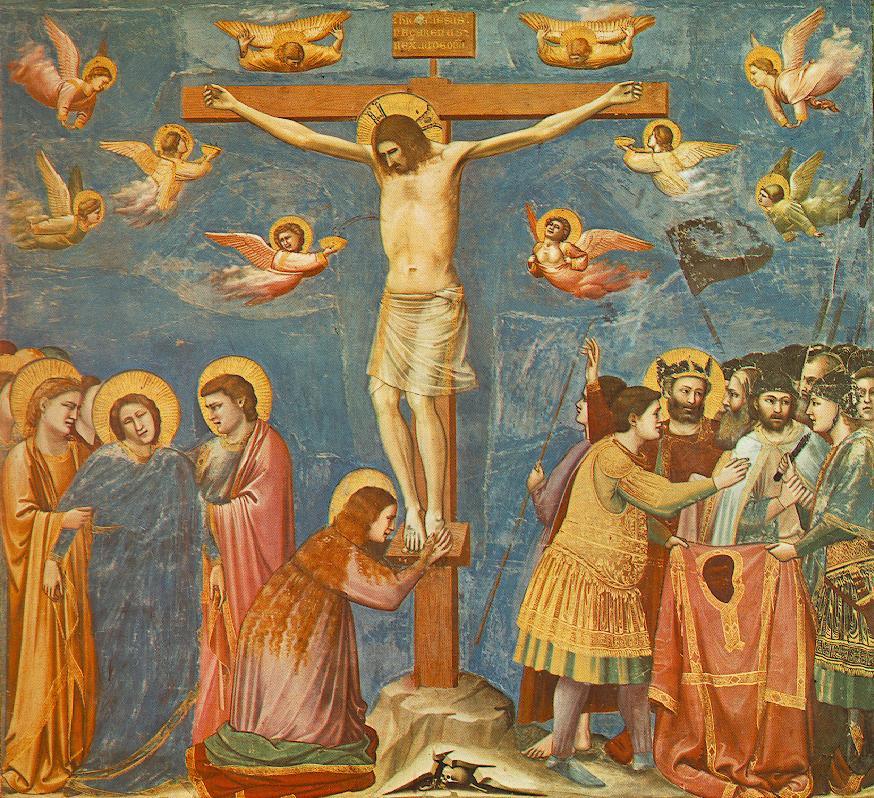 Джотто ди Бондоне. Распятие на кресте