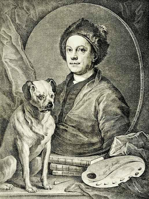 Уильям Хогарт. Автопортрет
