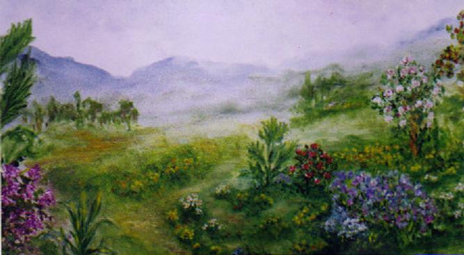 Rita Arkadievna Beckman. The colors of the Galilee mountains
