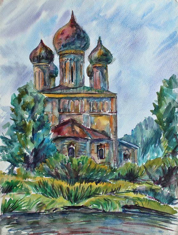Eduard Stepanovich Kochergin. Rostov the Great. Church