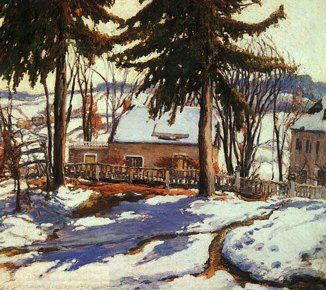 Чарльз Реиффел. Зимний пейзаж