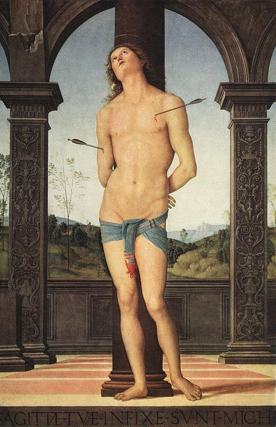 Pietro Perugino. Saint Sebastian