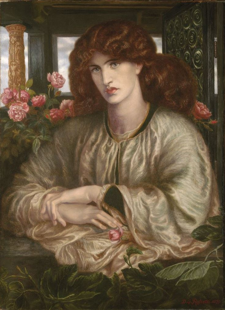 Dante Gabriel Rossetti. The woman in the window