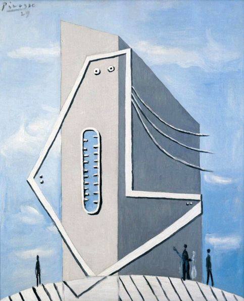 Пабло Пикассо. Монумент (Голова женщины)