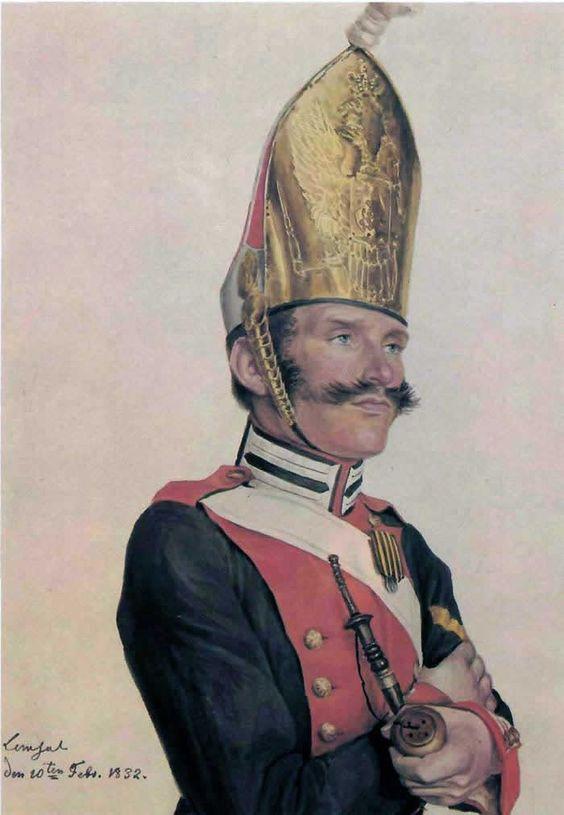 Evgraf (Gerard) Romanovich Reitern. Private Life Guards Pavlovsky Regiment.