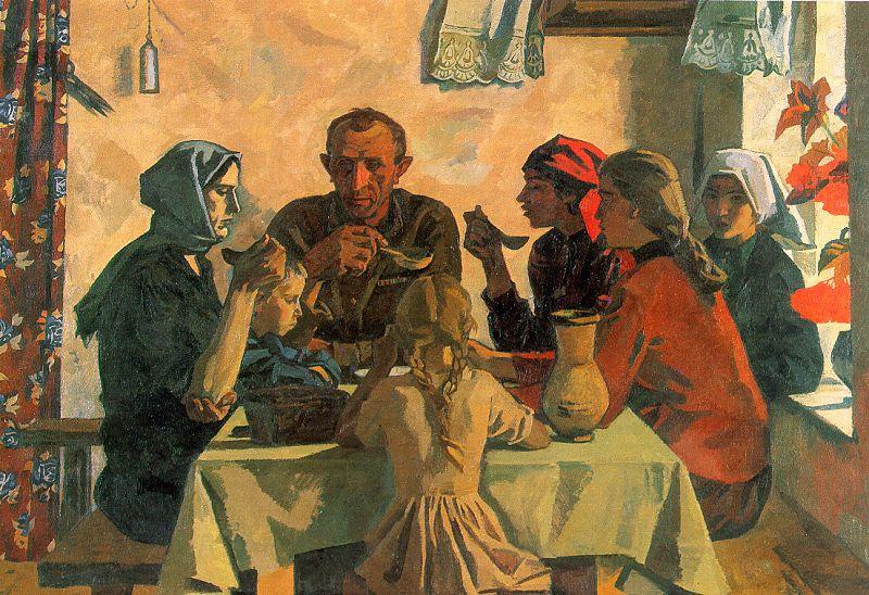 Виктор Иванов. Чаепитие