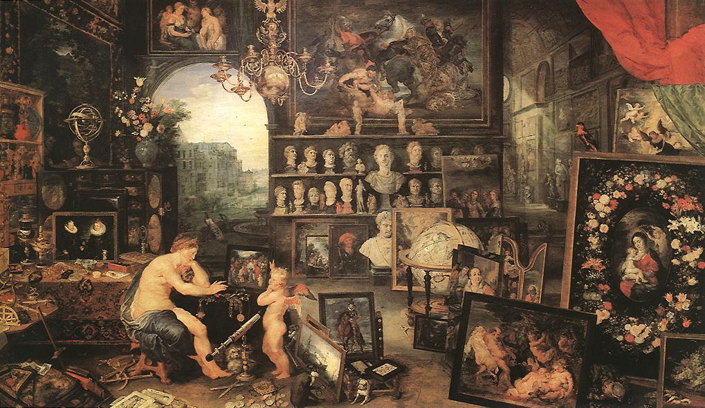 Jan Bruegel The Elder. Vision