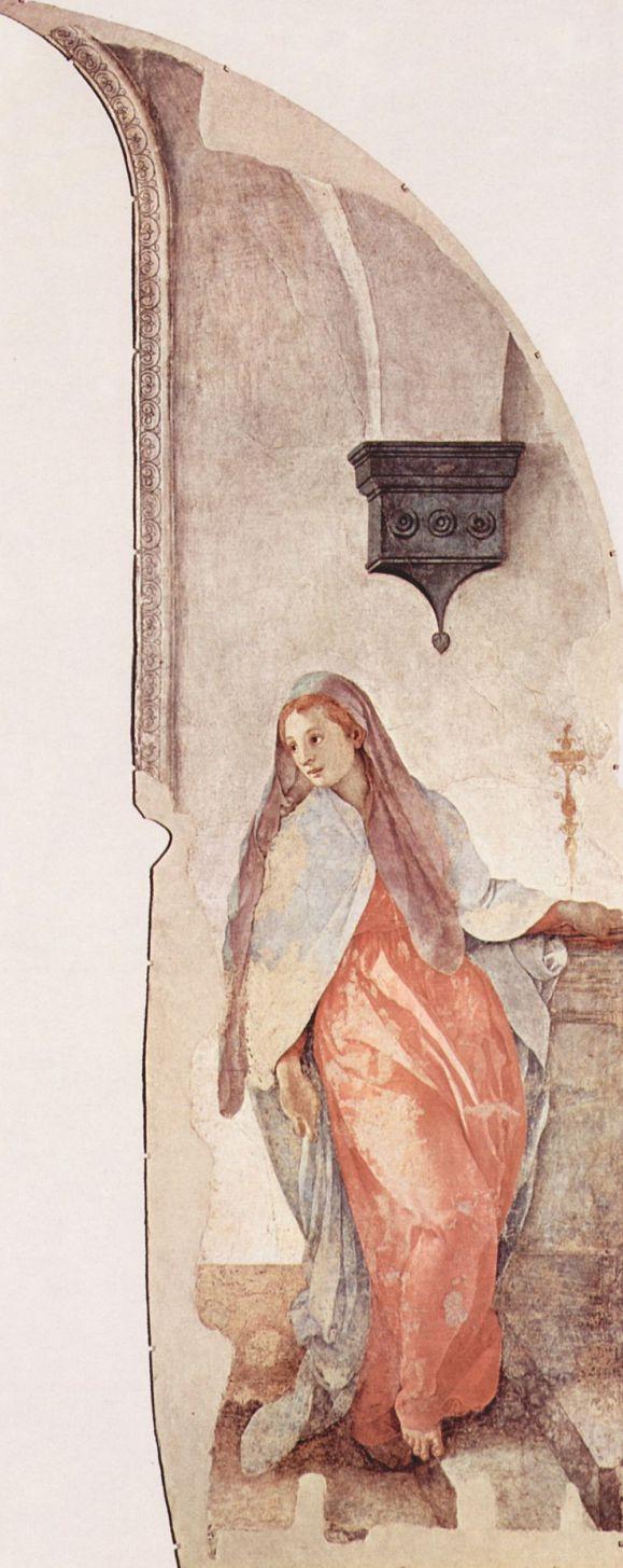 Якопо Понтормо. Дева Мария