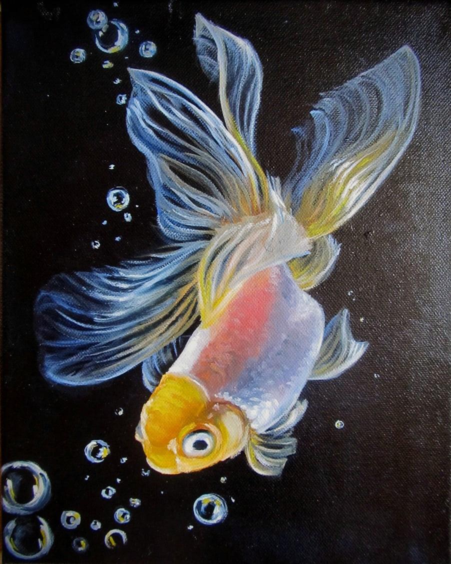 Tatiana Borisovna Gritsova. Gold fish