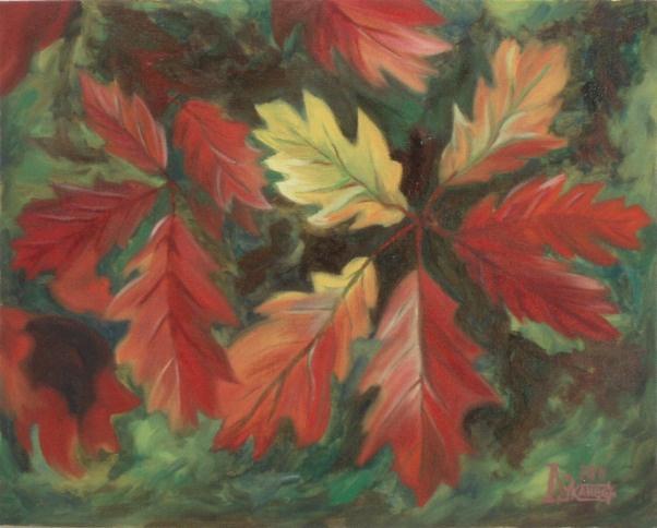 Larissa Lukaneva. Branch red oak