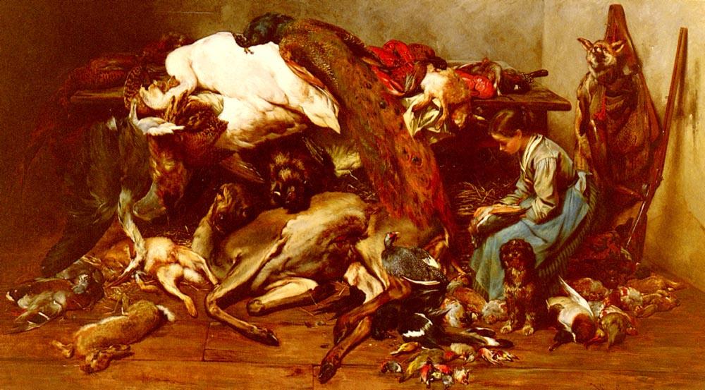 Филибер Леон Кутюрье. Убитые животные