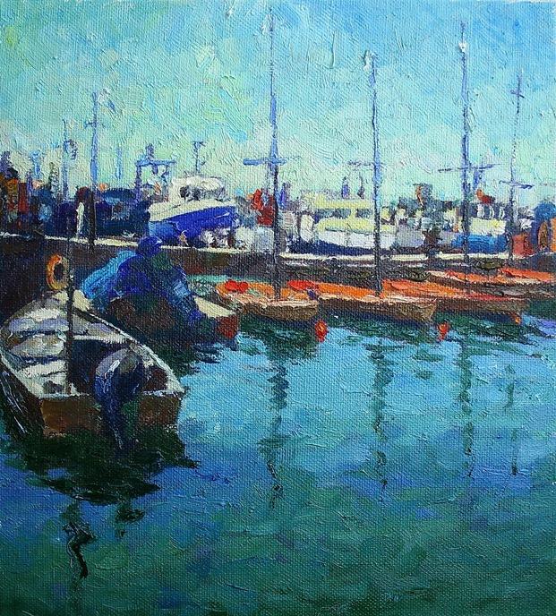 Михаил Рудник. Jaffa Port