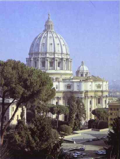 Микеланджело Буонарроти. Собор Св. Петра