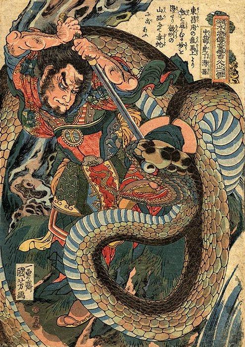 Китайский фольклор герои
