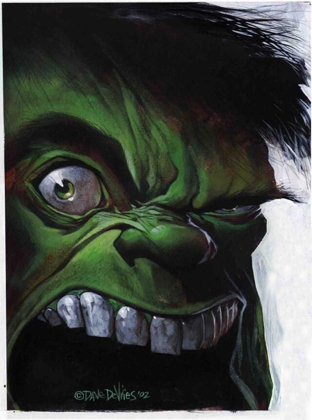 Дэйв Деврис. Зеленый монстр