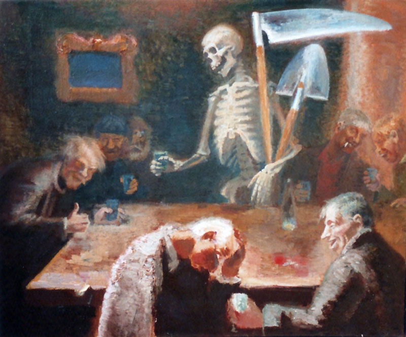 Anatoly Alekseevich Bolkhontsev. Eh we will drink, we will walk, but death will come ...