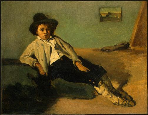 Камиль Коро. Итальянский крестьянин