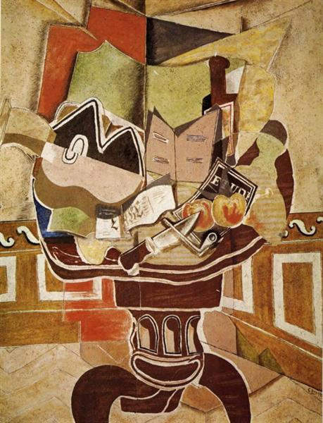Georges Braque. Round table