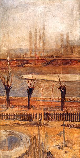 Jacek Malchevsky. Landscape from the Vistula