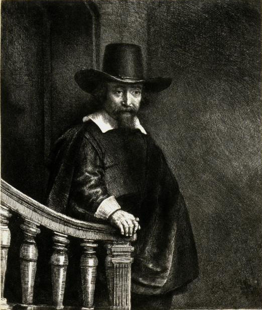 Рембрандт Ван Рейн. Еврейский врач