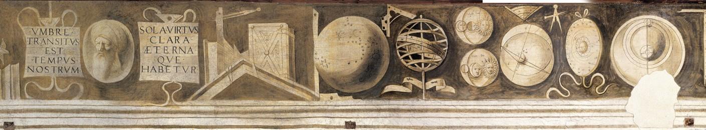 "Giorgione. Frieze ""Free arts and mechanical arts"". Medicine and Astrology"