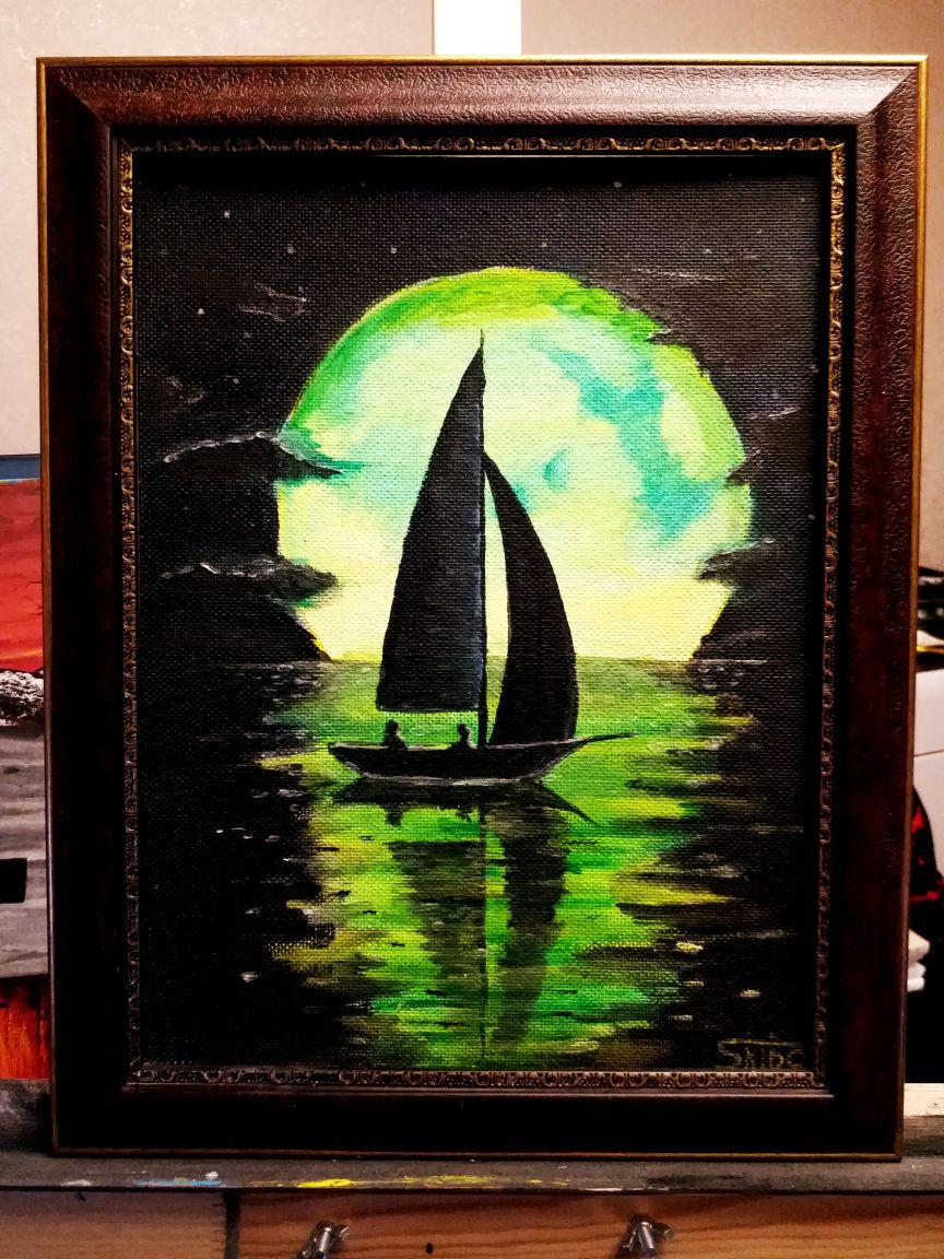 Alexander Skiba. Sailboat