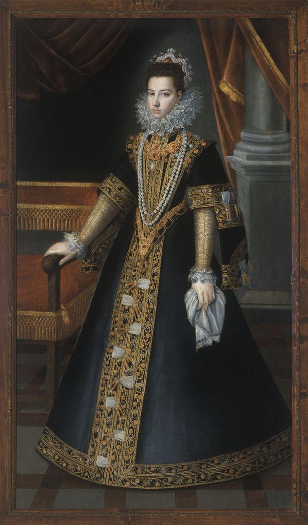 Sofonisba Anguissola. Portrait of Donna Juana of Austria