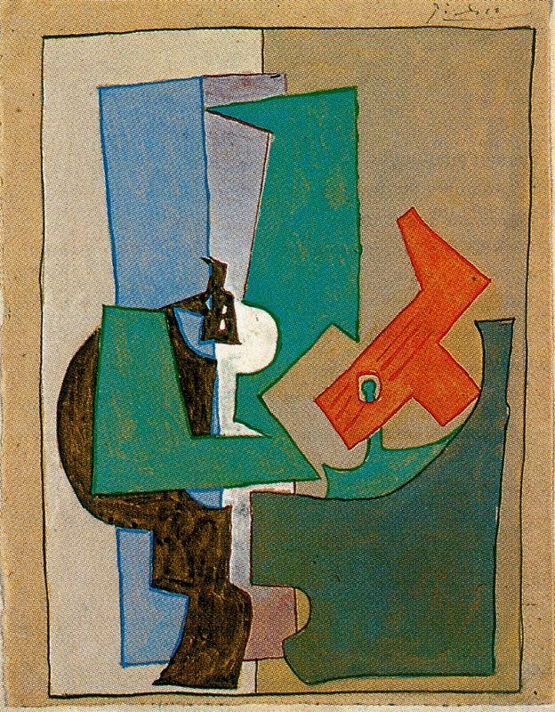 Пабло Пикассо. Столик