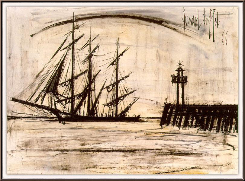 Бернард Буффет. Корабль