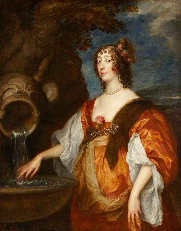 Anthony van Dyck. Lady Lucy Percy, Countess of Carlisle