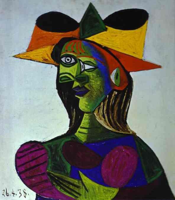 Пабло Пикассо. Портрет молодой женщины 2