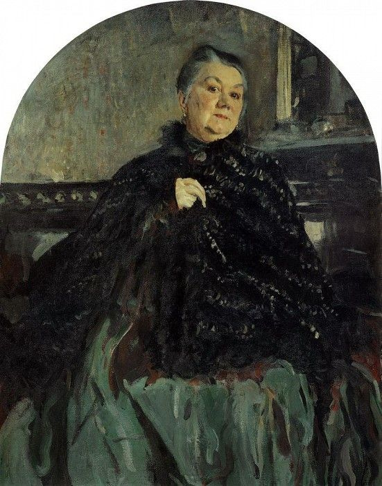 Valentin Aleksandrovich Serov. Portrait of the actress G. N. Fedotova