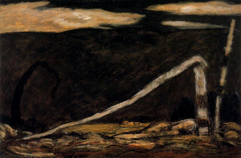 Marsden Hartley. Darkness