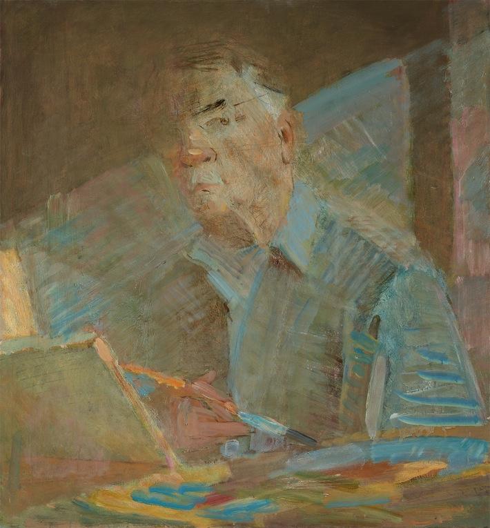 Ювеналий Дмитриевич Коровин. Автопортрет