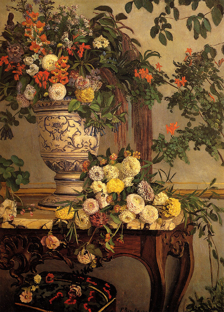 Фредерик Базиль. Цветы