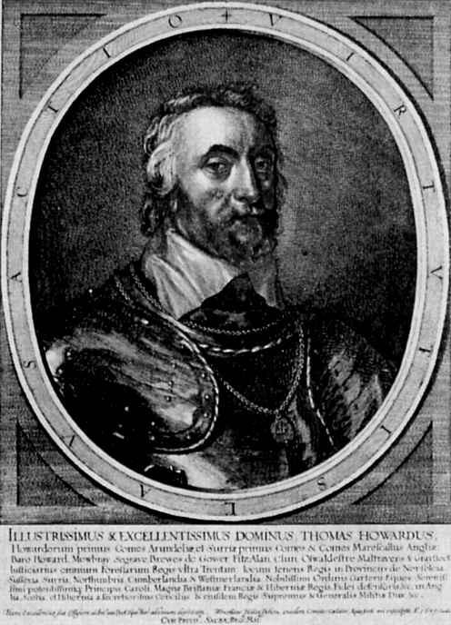 Венцель Холлар. Портрет Томаса Ховарда, герцога Арундела