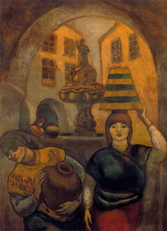 Артуро Соуто. Статуя во дворе