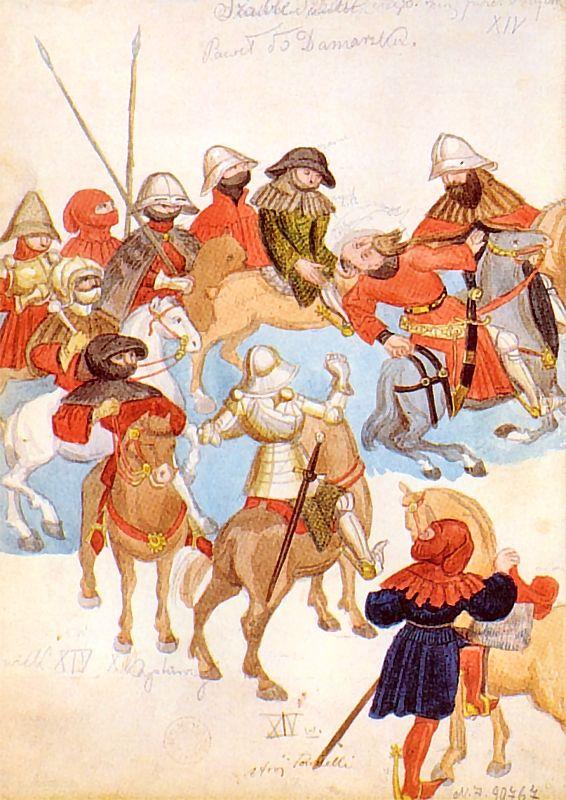 Ян Матейко. Преображение Святого Павла. Эскиз для Вавельского собора
