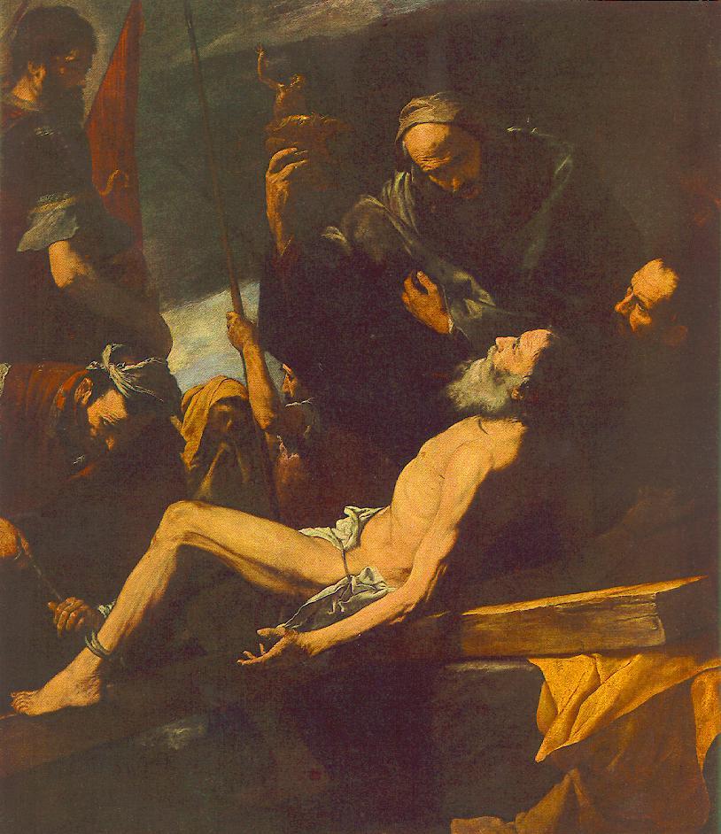Jose de Ribera. The Martyrdom Of St. Andrew The Apostle