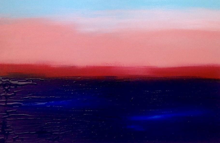 Nelly Roseau. Sunset