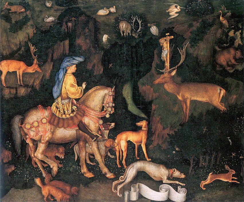 Антонио Пизанелло. В лесу